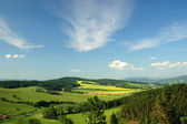 The landscape of northern Moravia — Stock Photo