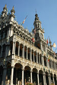 The museum building on the square in Brussels — Stock Photo