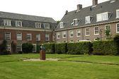 Courtyard of the Museum of John Amos Comenius in Naarden — Zdjęcie stockowe