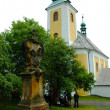 Stock Photo: Pilgrimage Church in Ruda, Moravia
