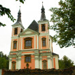 Stock Photo: Pilgrimage church StarVodin Moravia