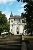 The famous pilgrimage church Saint Hostyn in Moravia — Stock Photo