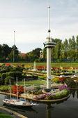 Miniaturowe miasto madurodam, Haga, Holandia — Zdjęcie stockowe