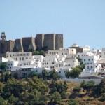 ������, ������: Monastery of St John the Evangelist in Patmos island Greece