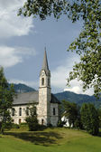 Church in Gosau, Austria — Stock fotografie