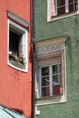 The windows in the corner — Photo