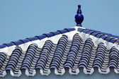 Decorations on roof in Spain — Stockfoto