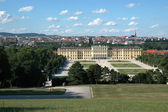 Beautiful view of  the Schonbrunn Palace in Vienna — Foto Stock