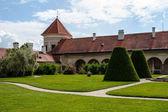 Castle Garden in Telc — Stockfoto