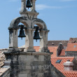Bell tower on the chapel in Dubrovnik — Stock Photo #50002733