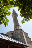 Tower minaret of Koski Mehmed Pasha Mosque — Stock Photo