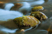 River and stones texture — Stock Photo