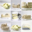 Stock Photo: Dental dentist objects collage