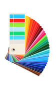 Color samples, bribe colored, rainbow — Stock Photo