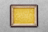 Old frame on a colored background — Foto de Stock