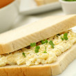 Stock Photo: Egg sandwich with cress
