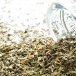 Dried french herbs de provence — Stock Photo