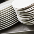 Stock Photo: White dishes