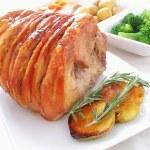 Roast pork — Stock Photo #38251997