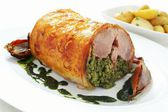 Stuffed pork — Stock Photo