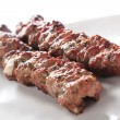 Lamb shish kofta kofte kebab — Stock Photo