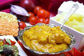 Traditional Indian chicken korma curry — Stock Photo