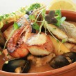 Mixed seafood starter — Stock Photo