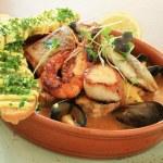 Mixed seafood starter — Stock Photo #47096791
