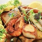 Mixed seafood starter — Stock Photo #47096793