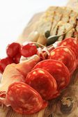 Antipasti antipasto — Stock Photo