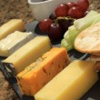 Cheese selection platter cheese board — Stock Photo #49659133