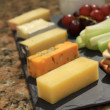 Cheese selection platter cheese board — Stock Photo #49659141