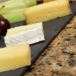 Cheese selection platter cheese board — Stock Photo #49659173