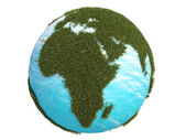Earth green grass europe africa south north — ストック写真