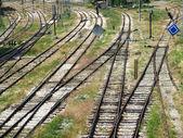 Bahngleise — Stockfoto