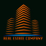 Real estate building company logo — Stock Vector