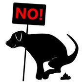 Подписать с собакой — Cтоковый вектор