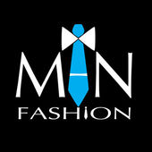 Man fashion vector logo — Stock Vector