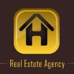 Real estate building logo — Stock Vector