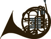 Brass instruments — Stock Vector