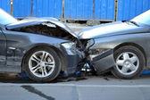 Cars crashed — Stock Photo