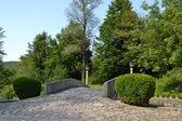 Kleine Steinbrücke — Stockfoto