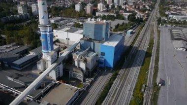 завод промышленность — Стоковое видео