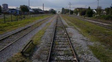 Railway tracks — Stock Video