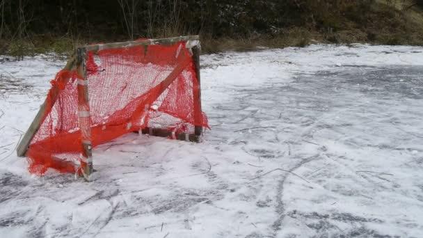 But au hockey — Vidéo