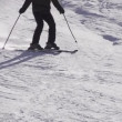 Skier Skiing — Stock Video