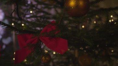 árbol de navidad — Vídeo de Stock