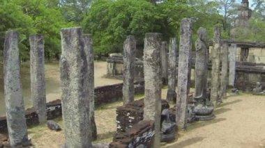 Alte tempel — Stockvideo