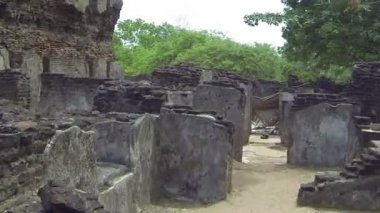 Ancient temple — Stock Video