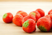 Czerwone truskawki — Zdjęcie stockowe